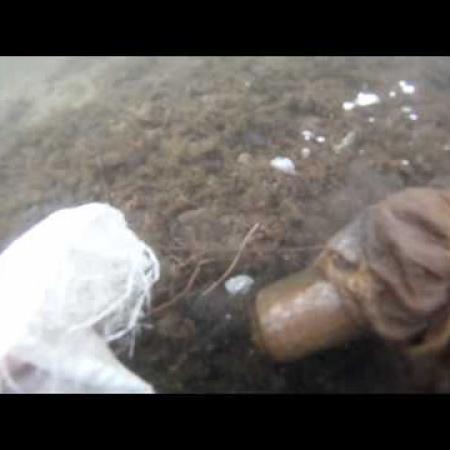 "Чистим дно озера ""Тургояк"" от мусора"